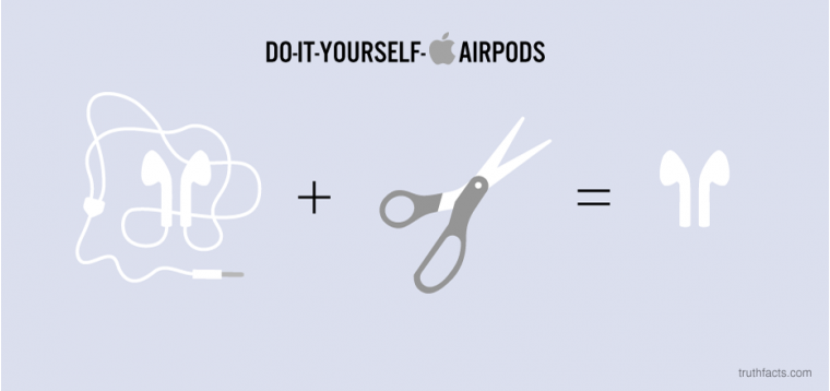 Do-it-yourself airpods