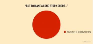 To make a long story short ...