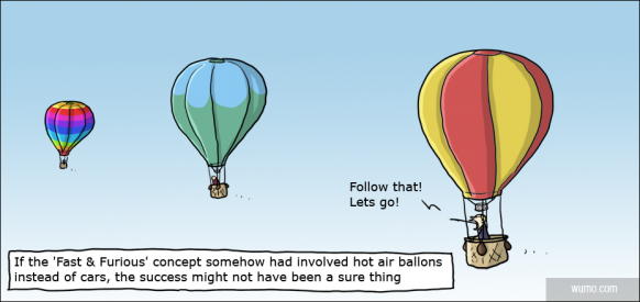 Fast & Furious - The Hot Air Ballon Edition