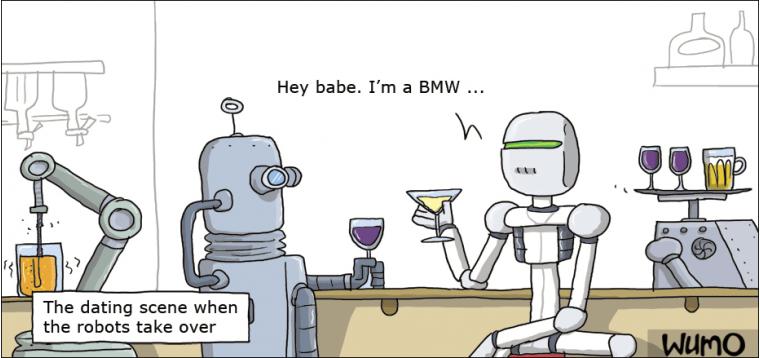 Dating website robots