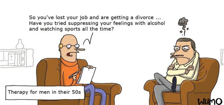 normala åldrandet hos kvinnor och män