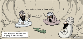 Spin-the-bottle with al-Qaeda
