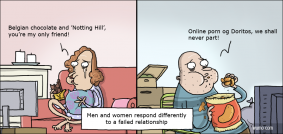 Men and women's responce to a failed relationship