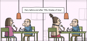 Before and after 'Fifty Shades of Grey'