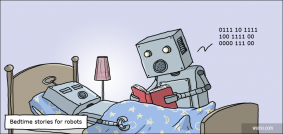 Bedtime stories for robots