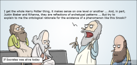 If Socrates was alive today