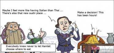 Dining with Hamlet