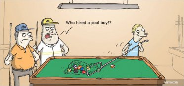 The pool boy