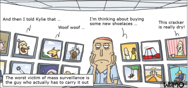 The worst victim of mass surveillance