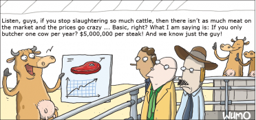 One cow per year