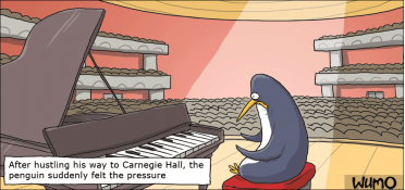 Penguin at Carnegie Hall