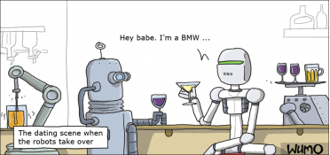 The dating scene when the robots take over