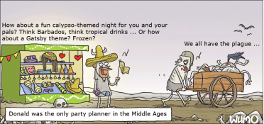 Party planner in the Middle Ages