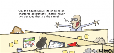 The adventurous life of a accountant